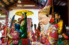 Temple de fils de Ngoc Image stock