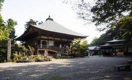 Temple de Futagoji Buddist sur la péninsule de Kunisaki, Japon Photos stock