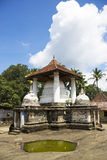 Temple de Gadaladeniya, Kandy, Sri Lanka photo libre de droits