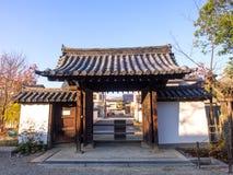 Temple de Gangoji à Nara, Japon Photographie stock libre de droits