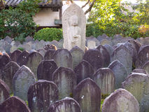 Temple de Gangoji à Nara, Japon Photos stock