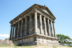 Temple de Garni Photographie stock