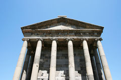 Temple de Garni Photo stock