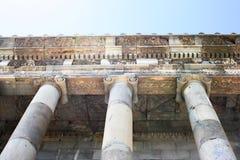 Temple de Garni Photos libres de droits