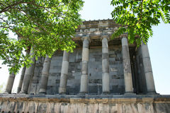 Temple de Garni Images libres de droits