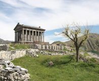 Temple de Garni Photo libre de droits