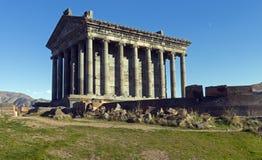 Temple de Garni Photo stock