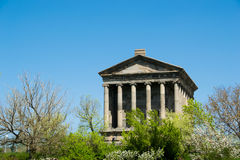 Temple de Garni, Arménie Image stock