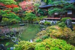 Temple de Ginkakuji Photos stock