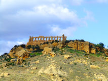 Temple de Giunone à Agrigente Image stock
