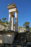 Temple de Glanum Photographie stock