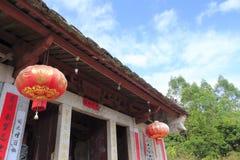 Temple de gong de Zhongling Image libre de droits