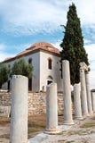Temple de Grec d'Ortodox images stock