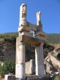 Temple de groupe de Diana - Ephesus Images stock