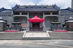 Temple de Guanlan GU à Shenzhen Chine image stock