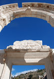 Temple de Hadrian, Ephesus, Turquie, Photographie stock libre de droits