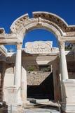 Temple de Hadrian, Ephesus, Turquie, Image libre de droits