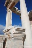 Temple de Hadrian, Ephesus, Turquie, Photo libre de droits