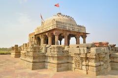 Temple de Harshat Mata Image libre de droits
