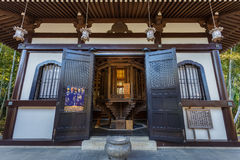 Temple de Hasedera à Kamakura Photos stock