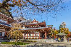 Temple de Hasedera à Kamakura Photo stock