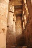 Temple de Hathor Photos libres de droits