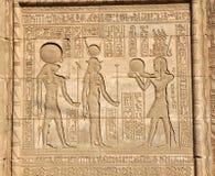 Temple de Hathor photographie stock