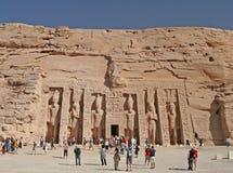 Temple de Hathor image libre de droits
