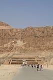 Temple de Hatshepsut Photos libres de droits