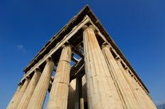 Temple de Hephaestus Image libre de droits