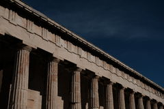 Temple de Hephaestus Images stock