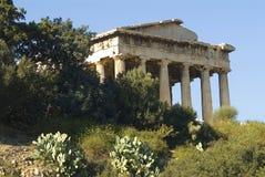 Temple de Hephaestus dans Athens_2 Photo stock