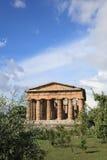 Temple de Hera, Italie Photos libres de droits