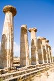 Temple de Heracles, Agrigente photographie stock libre de droits