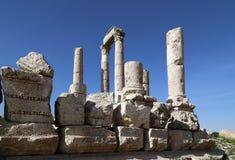 Temple de Hercule, Amman, Jordanie Photo stock