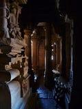 Temple de Hinduist dans Khajuraho dans l'Inde Photos libres de droits