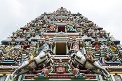 Temple de Hinduist en Malaisie Image libre de droits