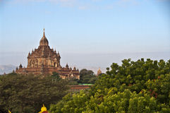 Temple de Htilominlo, Bagan, Myanmar Image libre de droits