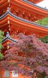 temple de Japonais de ‹de ¹ d'à de ‹de ¹ d'à images stock