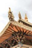 Temple de jokhang du Thibet de Chinois Image libre de droits