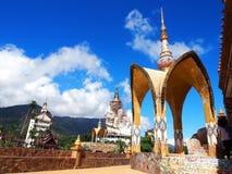 Temple de Kaew de fils de PA, Kao Kho, Petchaboon, Thaïlande Photos stock