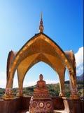 Temple de Kaew de fils de PA, Kao Kho, Petchaboon, Thaïlande Images libres de droits