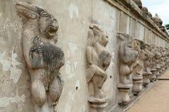 Temple de Kailasanathar, Inde Images libres de droits