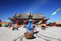 Temple de Kanjur image stock