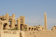 Temple de Karnak photo libre de droits