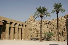 temple de karnak Photographie stock libre de droits