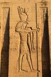 temple de karnak de l'Egypte Photographie stock