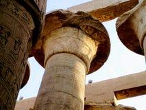 Temple de Karnak en Egypte illustration stock