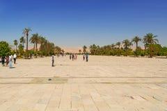 Temple de Karnak de Louxor, Egypte Images libres de droits