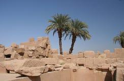 Temple de Karnak, Luxor Photos stock